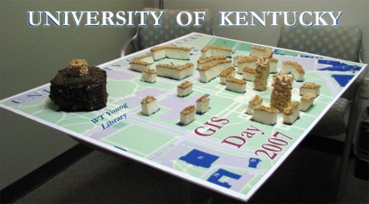 GIS Day 2007 Cake