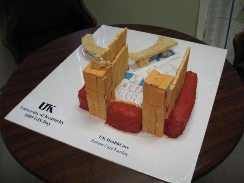 GIS Day 2009 Cake