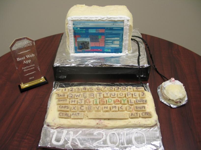 GIS Day 2010 Cake