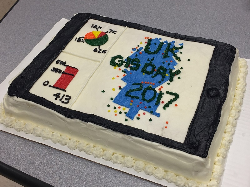 GIS Day 2017 Cake