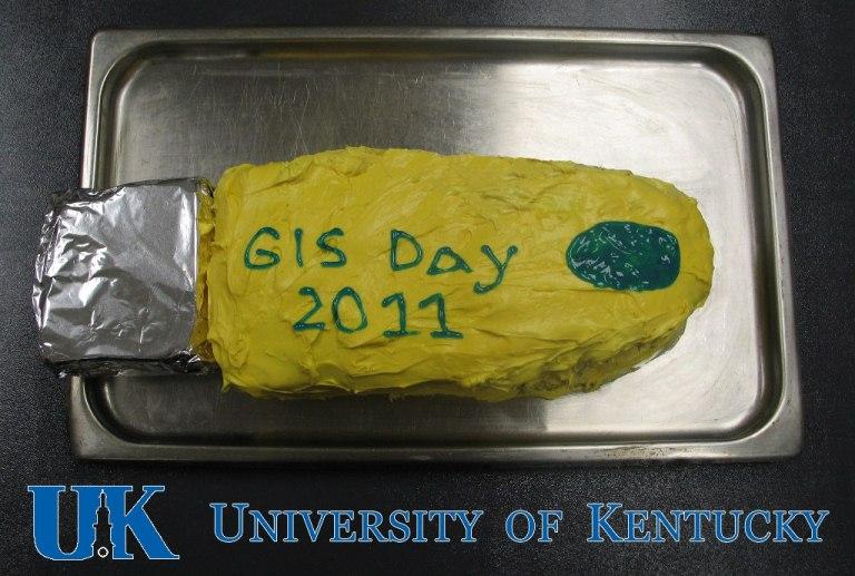 GIS Day 2011 Cake