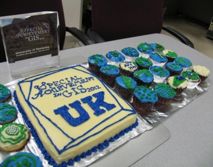 GIS Day 2012 Cake