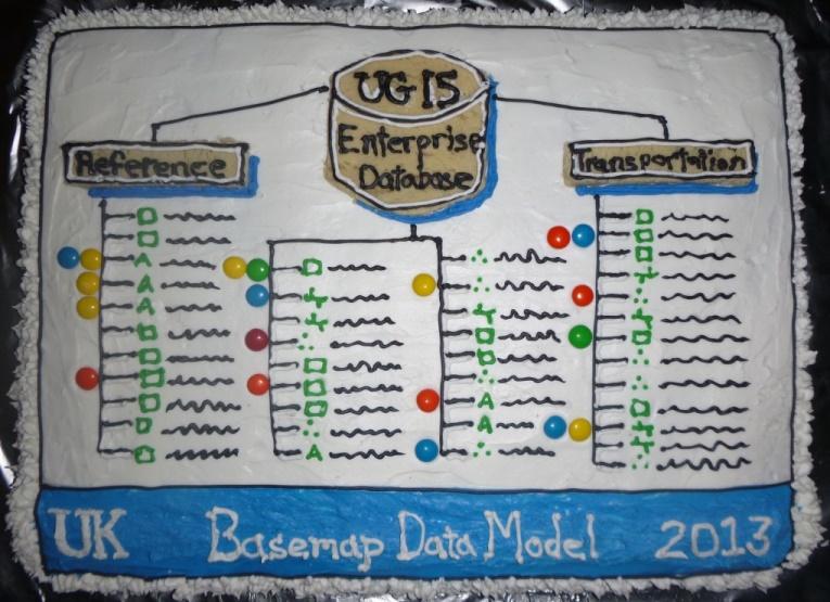 GIS Day 2013 Cake
