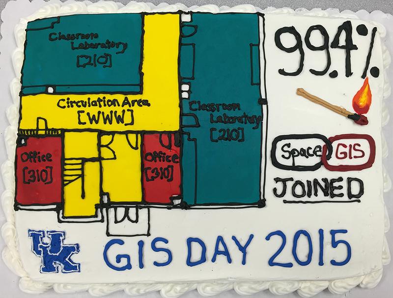 GIS Day 2014 Cake